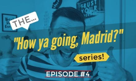 "Episode #4 – Booking Flights (The ""How ya going, Madrid?"" series)"